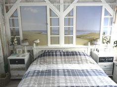 echte strandstoel mag in deze strandhuis sl.kamer niet ontbreken ...