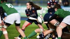 Une équipe un rêve Scotland Six Nations 2019 Mesdames rugby hoodie