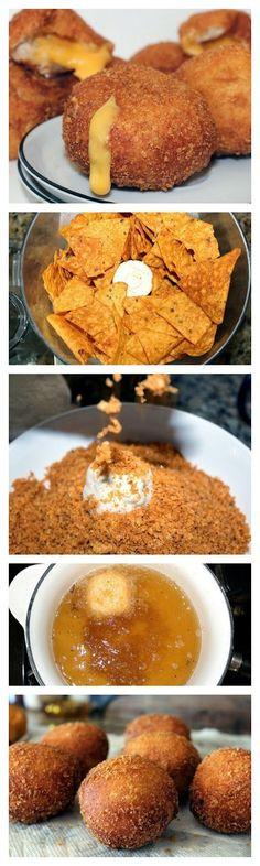 Queso Taco Bombs - Rincón Cocina