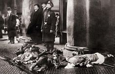 The Triangle Shirtwaist Company always kept its doors locked to ensure that the young immigrant women stayed stooped over their machines and didn't steal anything. When a fire broke out on Saturday, March 25, 1911, on the eighth floor of the New York City factory, the locks sealed the workers' fate. In just 30 minutes, 146 were killed.