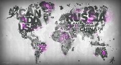 CJWHO ™ (World Map Series by Mikael B Design)