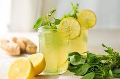 Infusión de jengibre y limón para adelgazar