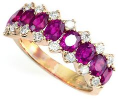 EFFY Rosa 14Kt. Yellow Gold Ruby & Diamond Ring on shopstyle.com