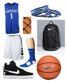 """""""Basketball is Life"""" by joe-bibb ❤ liked on Polyvore featuring NIKE, Understated Leather and Under Armour"""