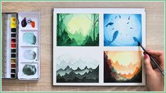 Make Your Watercolor Painting Look MAGICAL With These Easy Watercolor Te...