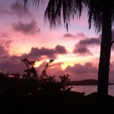 Sunset over Pohnpei on any given day