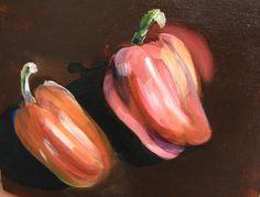 Orange Peppers by RichardHarveyAllsop on Etsy, $135.00