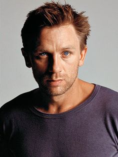 watching Skyfall. Swimming in Daniel Craig's beautiful blue eyes.