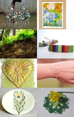 Green Around You by Diana on Etsy--Pinned with TreasuryPin.com