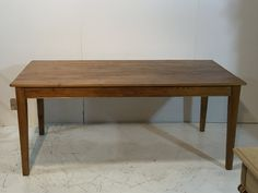 Handmade Table from Old Pine Floorboards (S5715D)