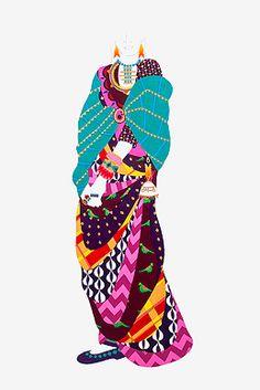Meera Sethi - Tamana @ Meera Sethi | StoryLTD.com| #IndianArt #MeeraSethi #AcrylicOnCancav #MixedMedia #Interesting