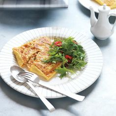 Asian Crab and Rice Omelette