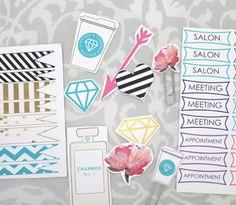 My 2014 Favorite Things Printable Sticker Set | Strange & Charmed Shop