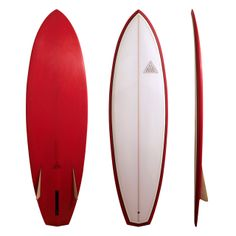 "6'4"" Bonzer 3  This is a classic Bonzer design: flat entry, single to very deep double concave in between the side fins. The bottom/fins com..."