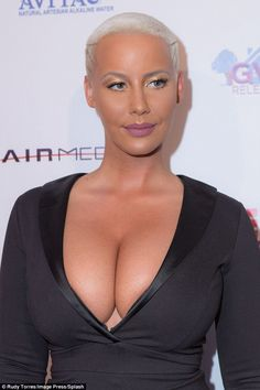 a66ceaed3f Amber Rose puts on an eye-popping display at Sister Code premiere