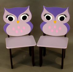 Owl Tea Table Chairs