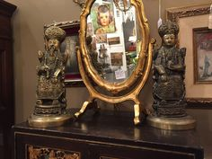 Chinese Emperor and Empress, $275, found at Gaslamp Antiques Too, booth T-264