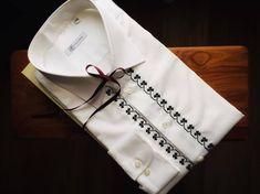 Camasa si cravata pentru barbati by ALISIA ENCO – ALISIA ENCO Men Shirts, Embroidery, Mens Fashion Shirts, Men Shirt, Men's Dress Shirts