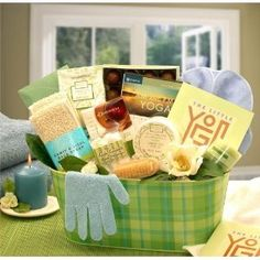 Mother's Day Gift Basket – Yoga & Green Tea Essentials « MyStoreHome.com – Stay At Home and Shop