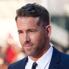 Ryan Reynolds Long Hairstyle