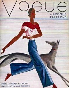 Vogue Cover - June 1930