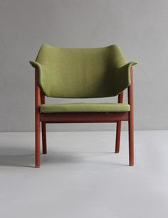 Karl-Erik Ekselius; Teak Armchair for JOC, 1960.