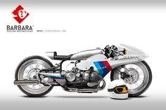 Barbara Custom Motorcycles - Photoshop Preparations | 8negro
