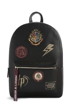 afd3ed24ef Sac à Dos Noir Harry Potter Hogwarts Sac À Dos Harry Potter, Vêtements  Harry Potter
