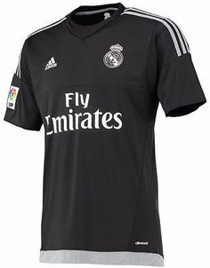a4dc5ca26 Adidas real madrid youth goalkeeper home jersey 2015 16