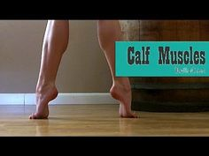 Barre Workout for Calves and Ankles Calf Muscle Workout, Muscle Fitness, Health Fitness, Fitness Legs, Pole Dance Fitness, Calf Exercises, Stretches, Big Calves, How To Get Bigger