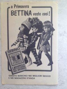 Pubblicità Bettina primo modello