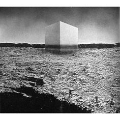 SUPERSTUDIO - THIRD CITY: NEW YORK OF BRAINS, 1971