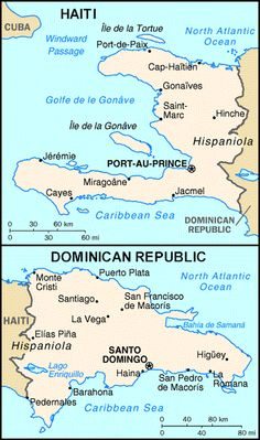 Facts and info country of dominican republic map dominican map of haiti and dominican republic gumiabroncs Choice Image