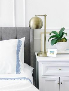 Home Decor Habitacion Calming blue and white master bedroom Blue Bedroom, Bedroom Decor, Bedroom Signs, Decorating Bedrooms, Bedroom Ideas, Bedroom Apartment, Interior Decorating, Declutter Your Home, Guest Bedrooms