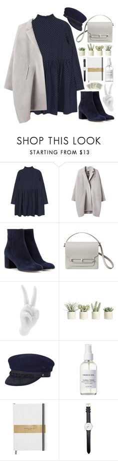 """""""Paris sera toujours Paris"""" by cassonade ❤ liked on Polyvore featuring Zero + Maria Cornejo, Gianvito Rossi, Thelermont Hupton, Allstate Floral, Country Gentleman, French Girl and Daniel Wellington"""