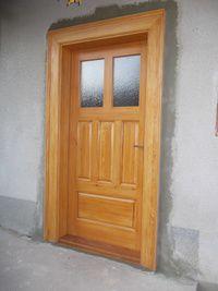 Dveře vchodové | Zakázková výroba nábytku Brno | Stolařství Bohuslav Šimek | Truhlářská výroba