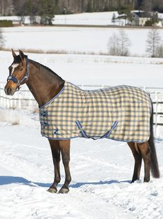 Horze Base Fleece Sheet -This lightweight multi-purpose fleece rug will keep your horse warm, dry, and comfortable while looking great.