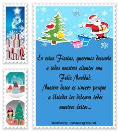 mensajes de texto para enviar en Navidad empresariales,palabras para enviar en Navidad corporativos: http://www.consejosgratis.net/frases-de-navidad-para-clientes/
