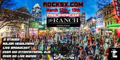 RockSX SXSW Week Showcase #sxsw2014 #thingstodo #Austin www.tcphouses.com