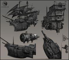 pirate ship concept - Google keresés