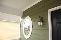 Fiber cement siding, like this HardiePlank siding in mountain sage, is catching on in the remodeling market.