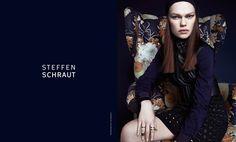 Kelly Mittendorf Sits for Steffen Schrauts Fall 2014 Ads by Alexx and Anton