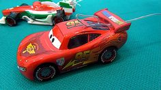 The Cars in English. Lightning McQueen and his friends find racing track...