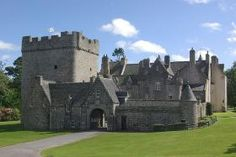 Drum Castle - The old tower of Drum is believed to be one of the three oldest towers surviving in Scotland. Adjoining it is a large wing of 1619 and some Victorian additions.