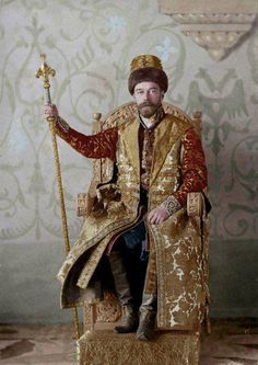 Tsar Nicholas, II at the last Imperial Costume Ball, 1903