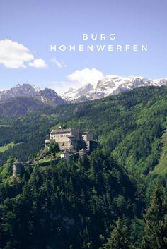 Burg Hohenwerfen - Hohe Tauern - Pinzgau - Salzburgerland - Salzburg - Österreich - Austria Strand, Highlights, Mountains, Nature, Travel, Austria, Salzburg Austria, Vacation, Pictures