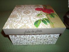 Caixa Romance floral
