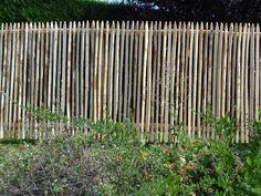Staketenzaun Sichtschutz Höhe 1,5m Staketenabstand 2-3 cm