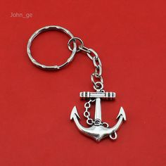 What you get is what you see  Only $ 1.64 &FREE Shipping Worldwide  Get it here --->http://www.honestgem.com/product/handmade-vintage-silver-anchor-key-chain/ //   #honestgem #jewelry