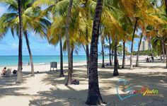 Alambique Beach (Isla Verde Beach), Carolina - Just minutes from San Juan, Puerto Rico.